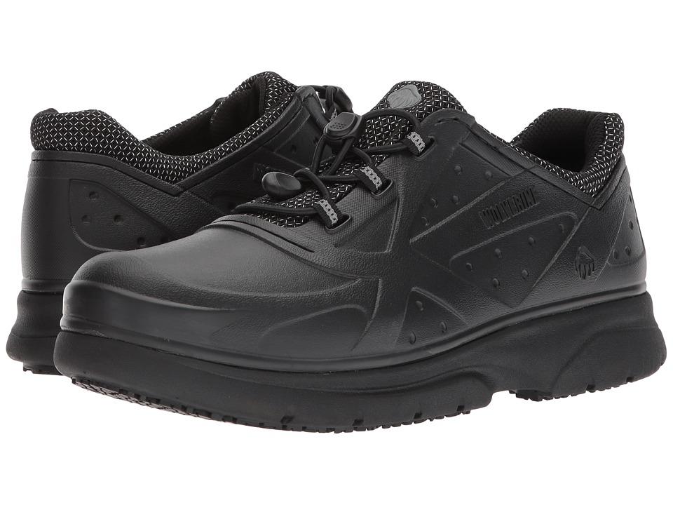 Wolverine - Serve SR (Black) Men's Lace up casual Shoes