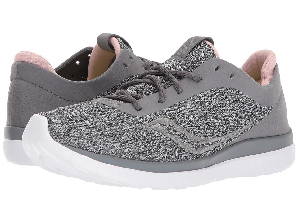 Saucony Liteform Escape (Grey/Blush) Women's Running Shoes