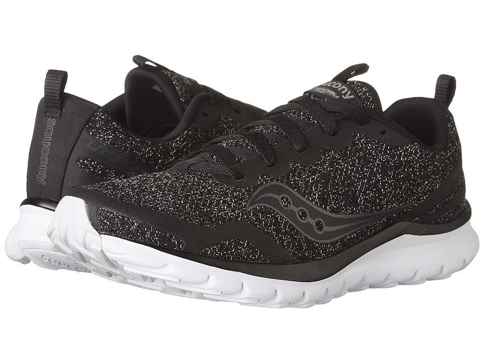 Saucony Liteform Feel (Black 2) Women's Running Shoes