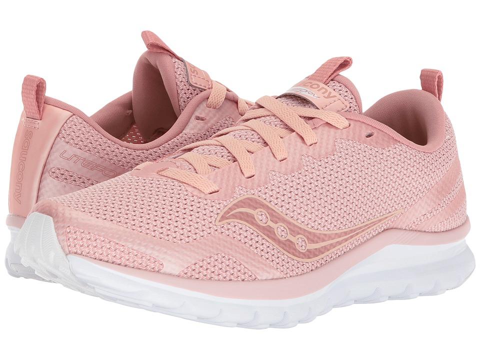Saucony Liteform Feel (Blush) Women's Running Shoes
