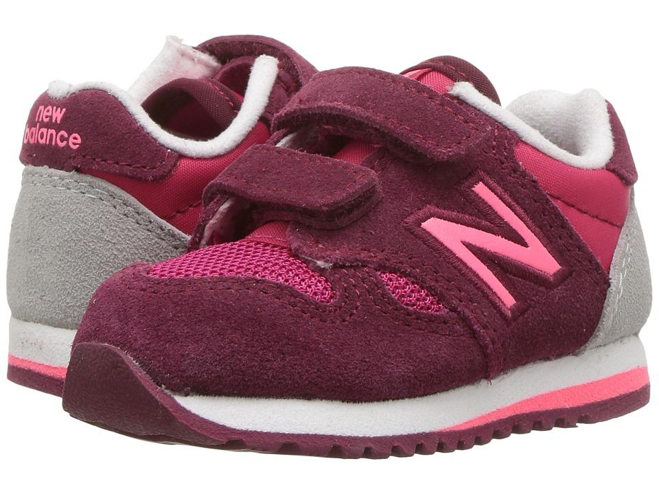 New Balance Kids - KA520v1I (Infant/Toddler) (Pink/Purple) Girls Shoes