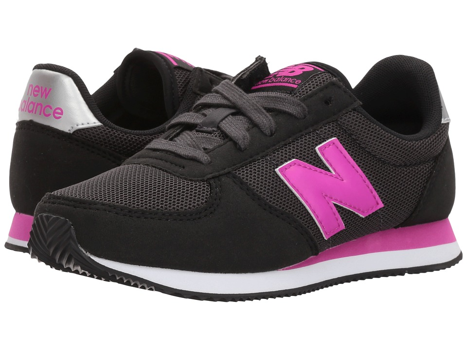 New Balance Kids KL220v1Y (Little Kid/Big Kid) (Black/Purple) Girls Shoes