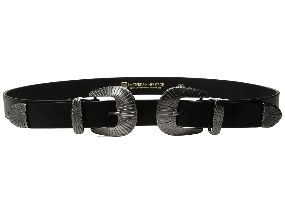 Amsterdam Heritage - 30004 (Black) Womens Belts