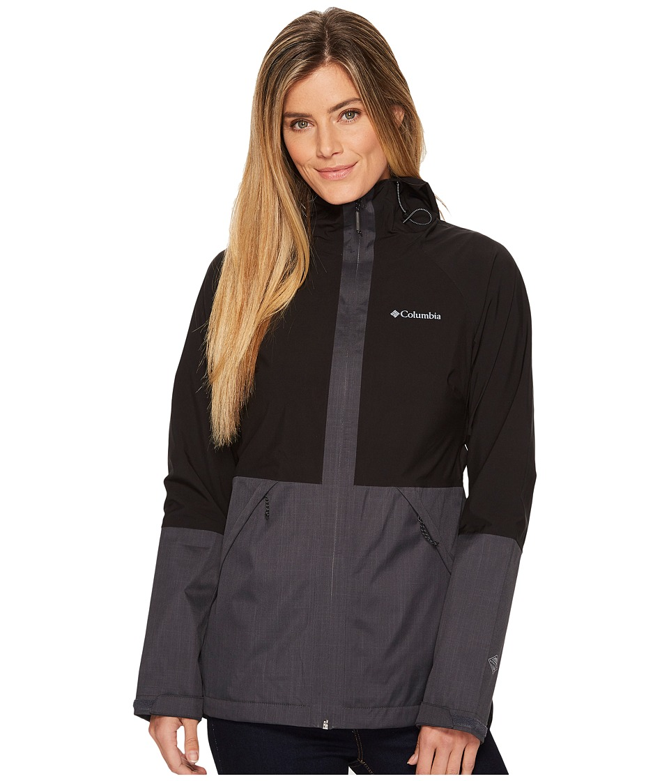 Columbia Evolution Valley Jacket (Black/Shark Melange) Women