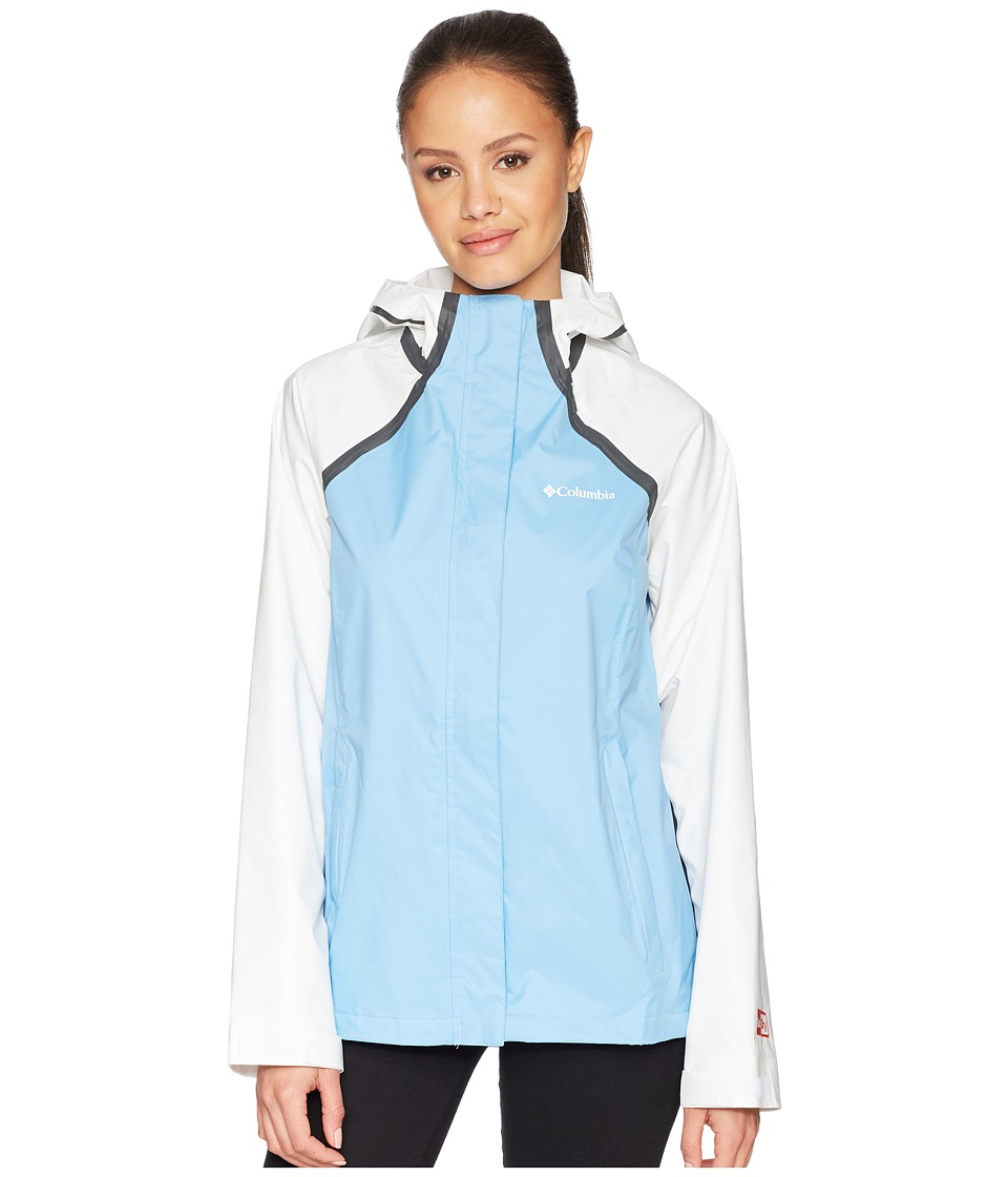 Columbia OutDry Hybrid Jacket (Blue Sky/White) Women