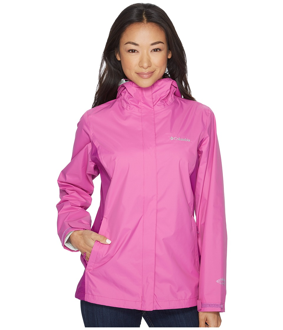 Columbia Arcadia IItm Jacket (Bright Lavender/Intense Violet/Ice Green) Women