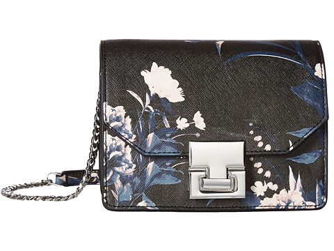 Ivanka Trump Hopewell Mini Shoulder - Floral Print - Black