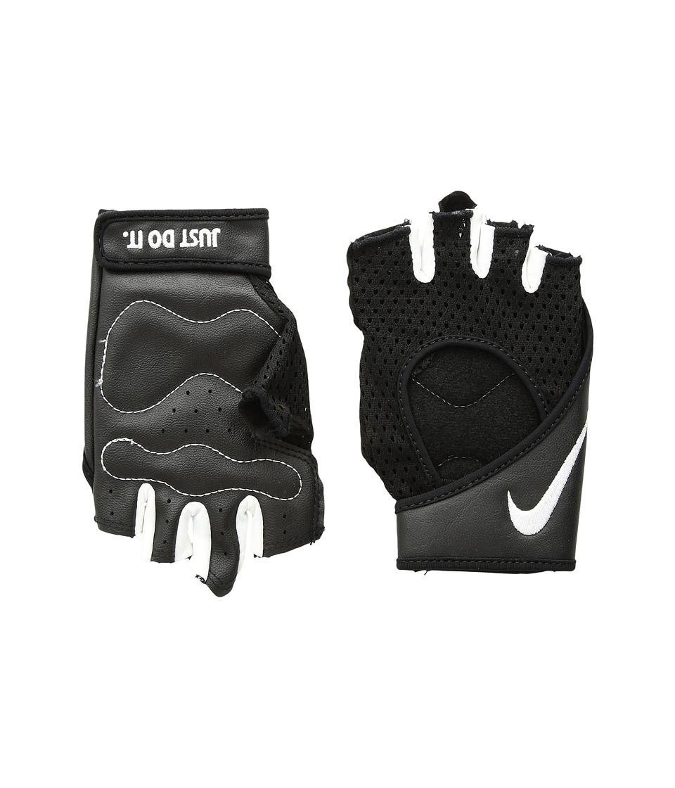 Nike Pro Perf Wrap Training Gloves (Black/White/White) Cycling Gloves