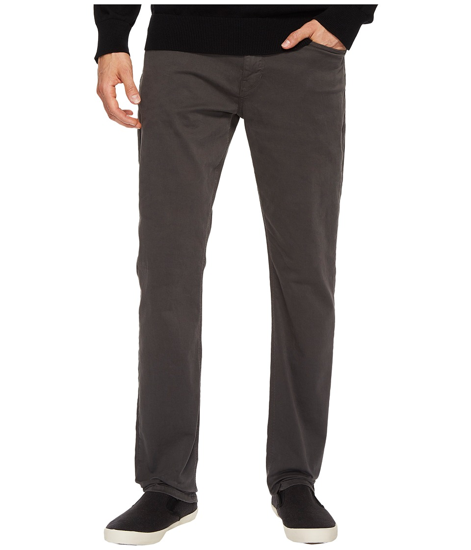 Paige Federal Slim Straight Leg in Soot (Soot) Men