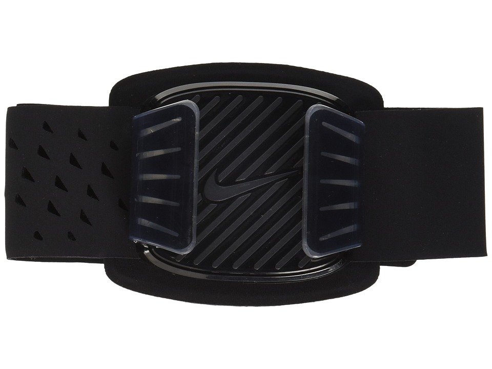 Nike - Universal Arm Band (Black/Clear/Silver) Athletic Sports Equipment