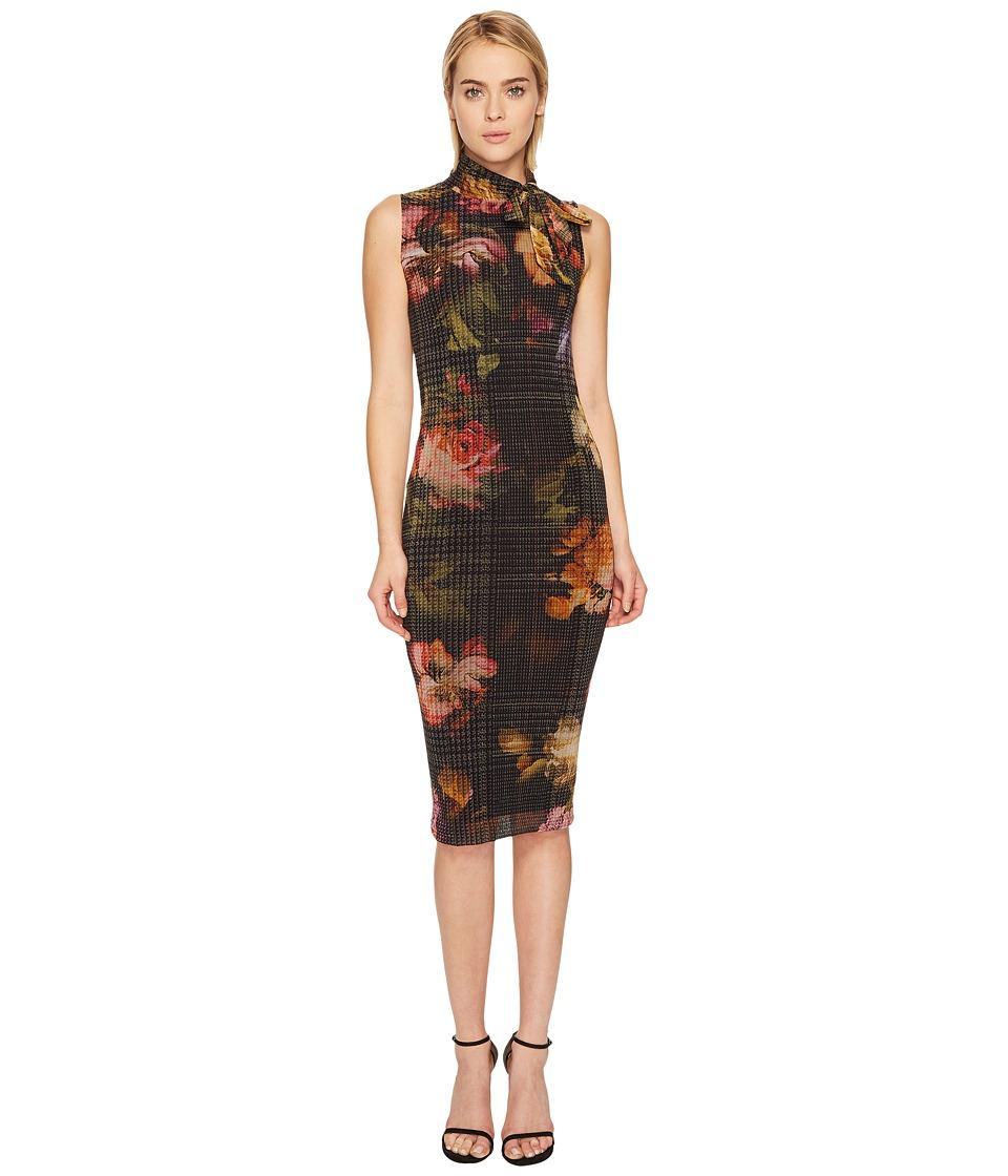 FUZZI - Sleeveless Fitted Tie Dress Cover-Up (Gardenia) Womens Swimwear