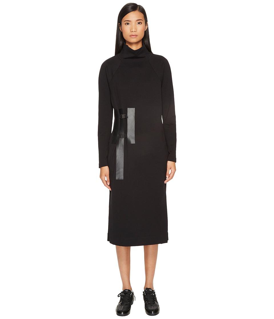 adidas Y-3 by Yohji Yamamoto Bold 3-Stripes Dress (Black) Women