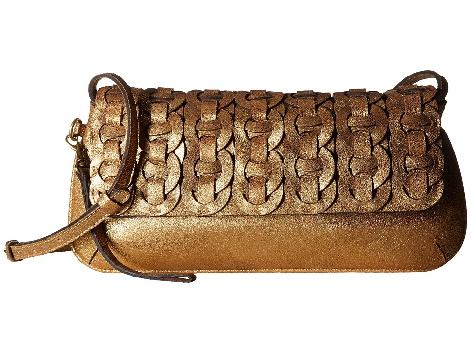 Patricia Nash Baku Clutch (Gold) Clutch Handbags