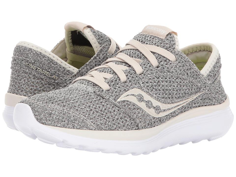 Saucony Kineta Relay (Grey Beige) Women's Running Shoes