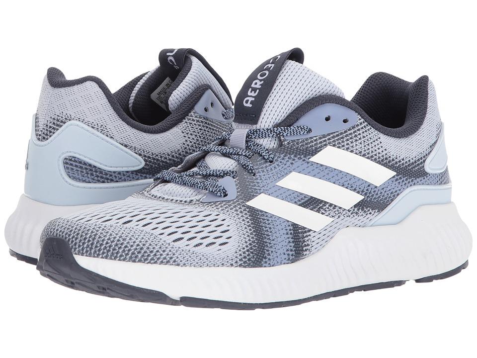 adidas Running Aerobounce (Aero Blue/Chalk Blue/Trace Blue) Women's Running Shoes
