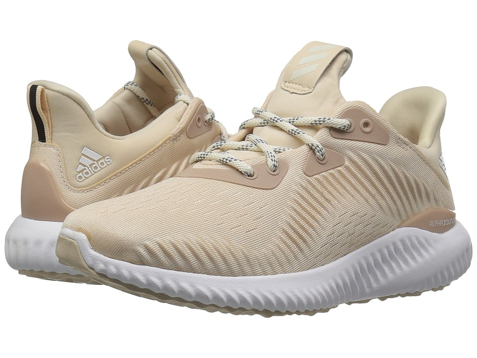 adidas Running Alphabounce 1 (Linen/Off-White/Ash Pearl) Women's Shoes