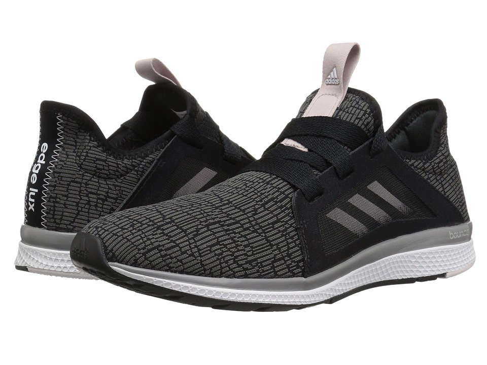 adidas Running Edge Lux (Core Black/Vapour Grey Metallic/Orchid Tint) Women's Running Shoes