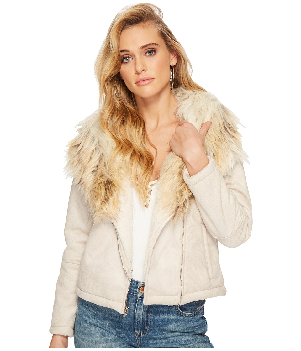 BB Dakota - Claver Faux Fur Trim Jacket