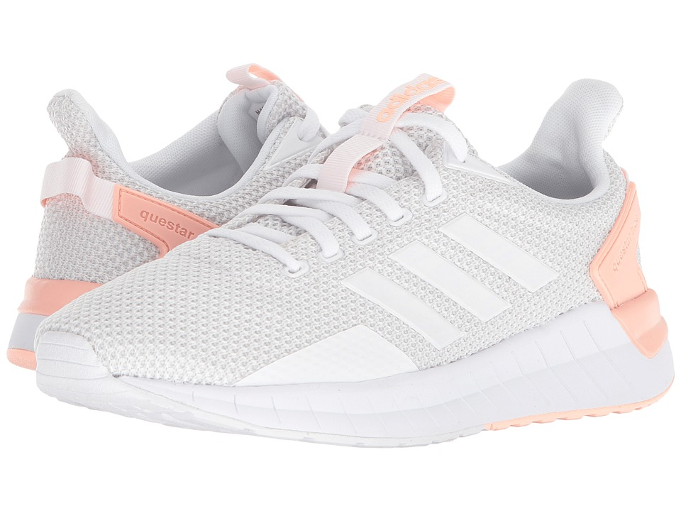 adidas Running Questar Ride (Footwear White/Grey One/Haze Coral) Women's Running Shoes