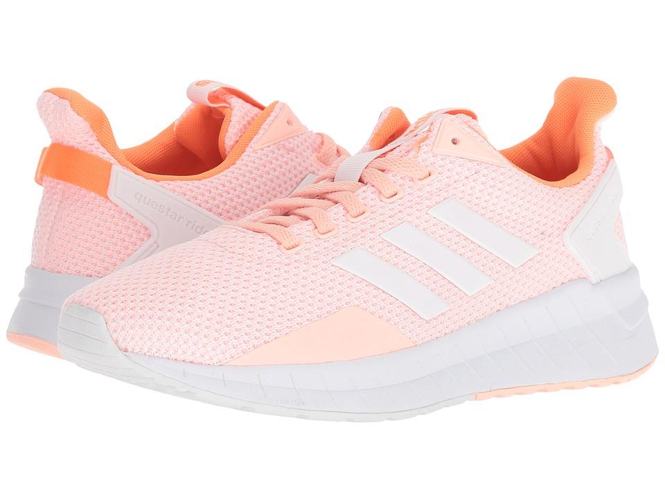 adidas Running Questar Ride (Haze Coral/Footwear White/Hi-Res Orange) Women's Running Shoes
