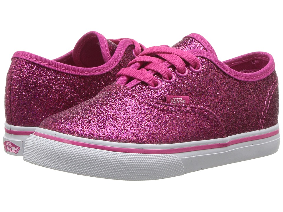 Vans Kids - Authentic (Toddler) ((Glitter) Rosy) Girls Shoes