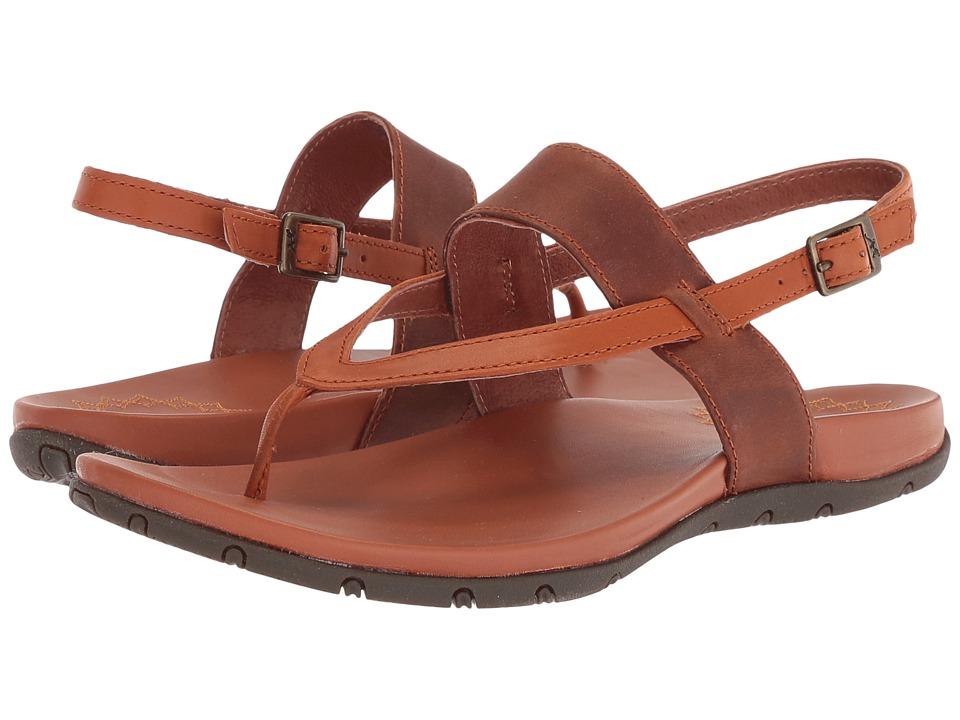 Chaco Maya II (Rust) Sandals