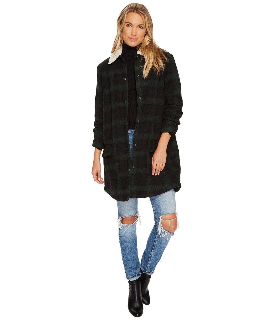 BB Dakota - Bradley Sherpa Lined Plaid Coat