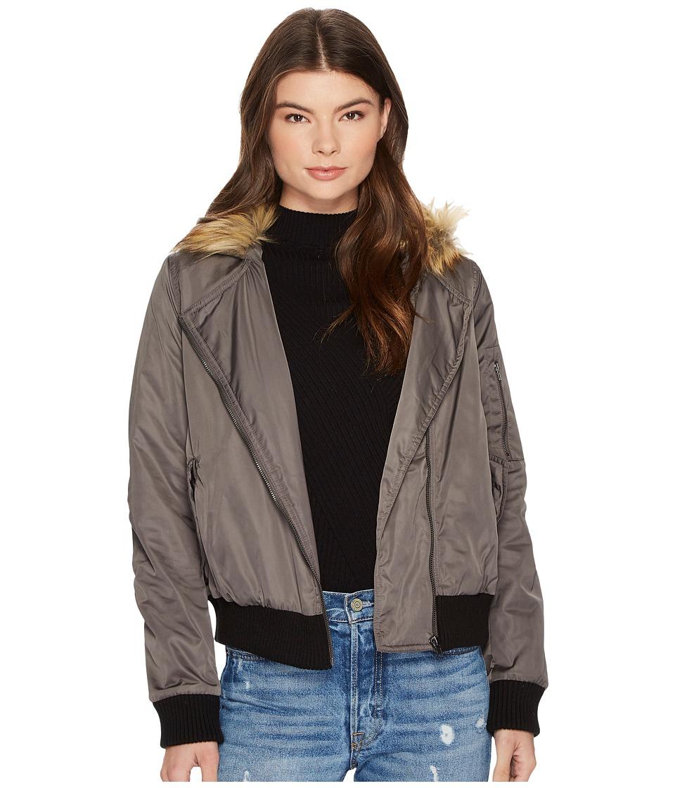 BB Dakota - Powell Faux Fur Hooded Jacket