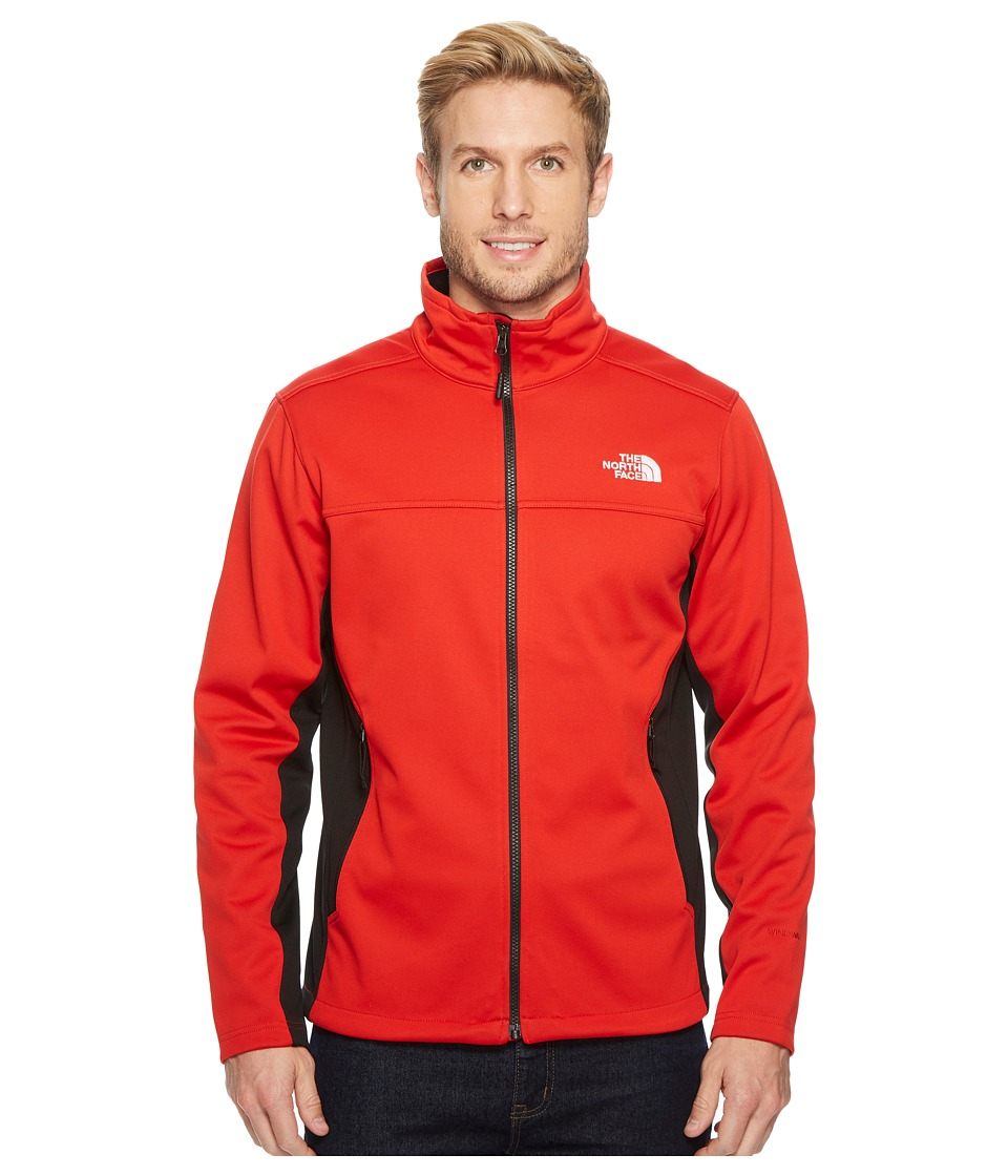 The North Face Apex Canyonwall Jacket (High Risk Red/TNF Black) Men
