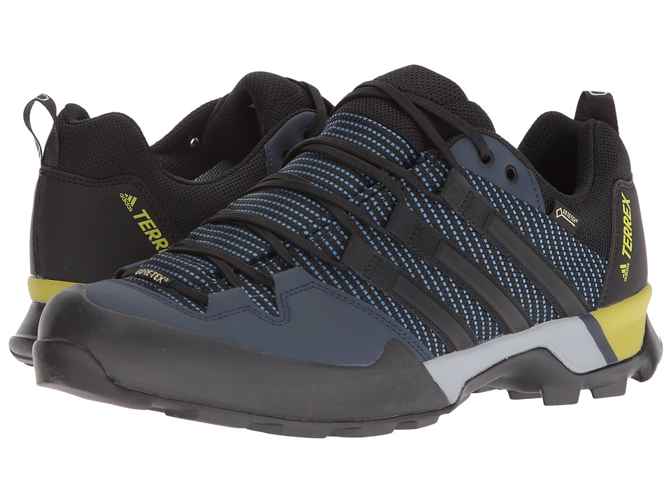 adidas Outdoor - Terrex Scope GTX(r) (Core Blue/Black/EQT Yellow) Mens Shoes