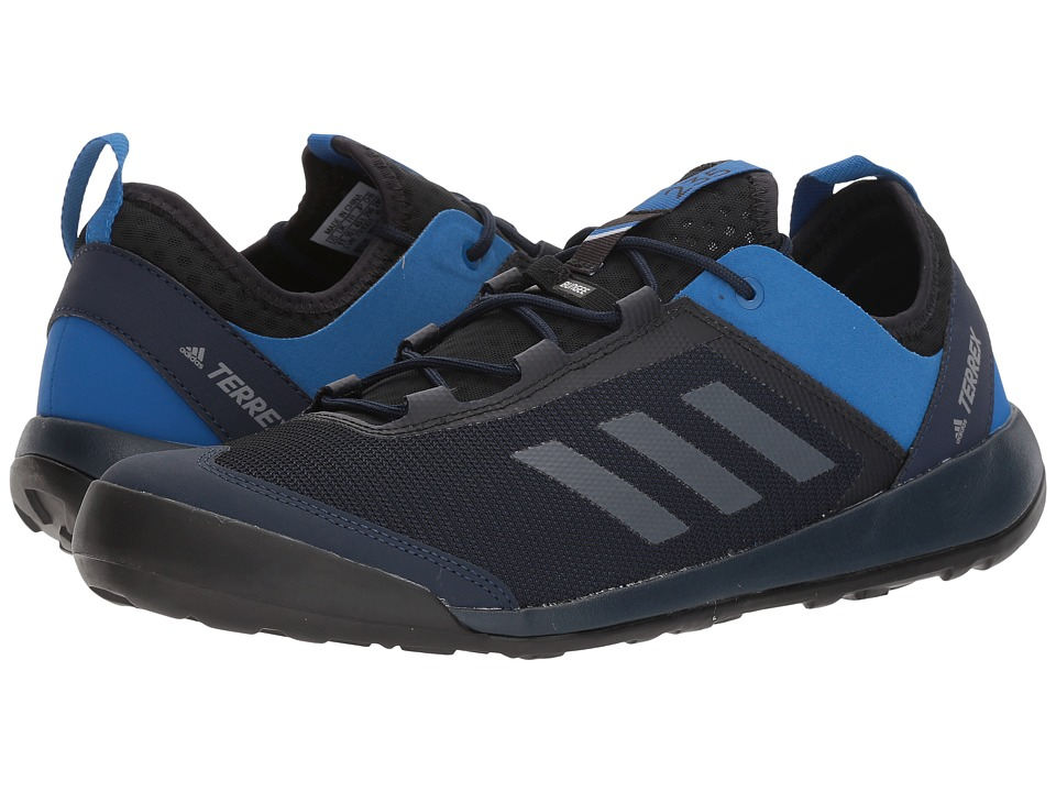 adidas Outdoor - Terrex Swift Solo (Collegiate Navy/Grey Three/Blue Beauty) Mens Shoes