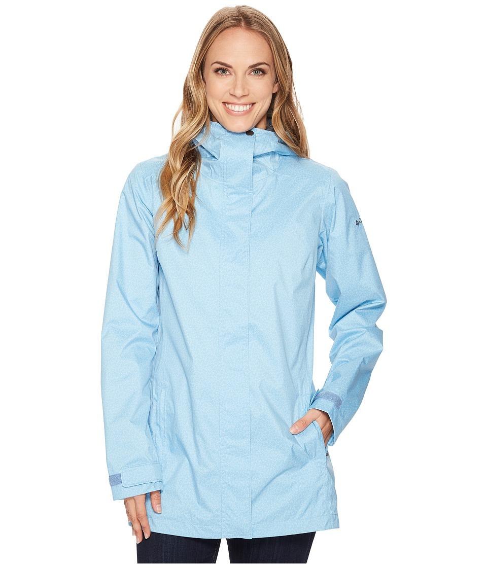 Columbia Splash A Little II Rain Jacket (Blue Sky Geo Lights Print) Women