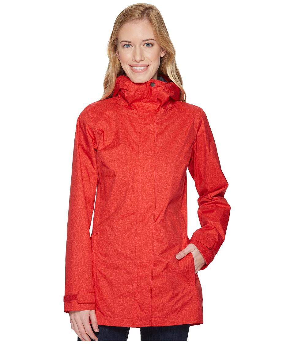 Columbia Splash A Little II Rain Jacket (Red Camellia Geo Lights Print) Women