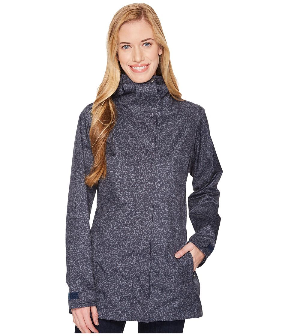 Columbia Splash A Little II Rain Jacket (India Ink Geo Lights Print) Women