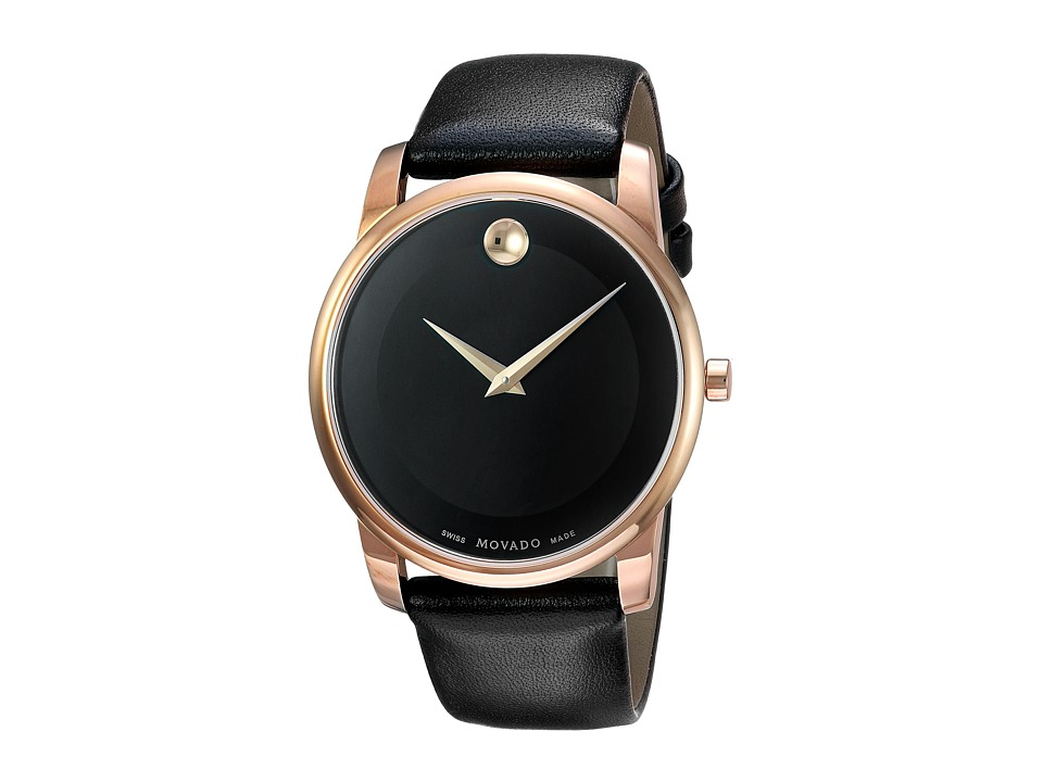 Movado - Classic Museum - 0607078 (Rose Gold) Watches