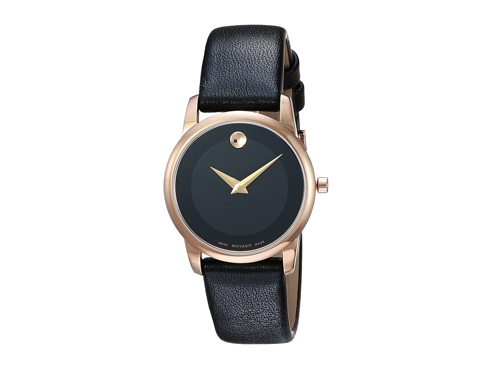 Movado Classic Museum - 0607079 (Rose Gold) Watches