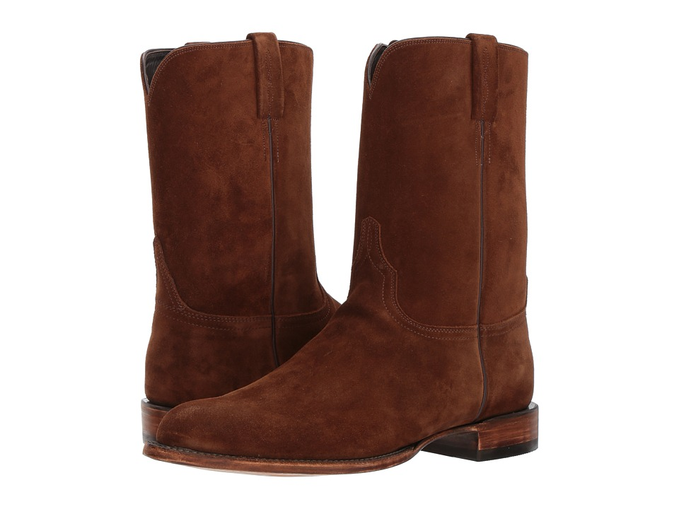 Lucchese - Cannon (Espresso) Cowboy Boots