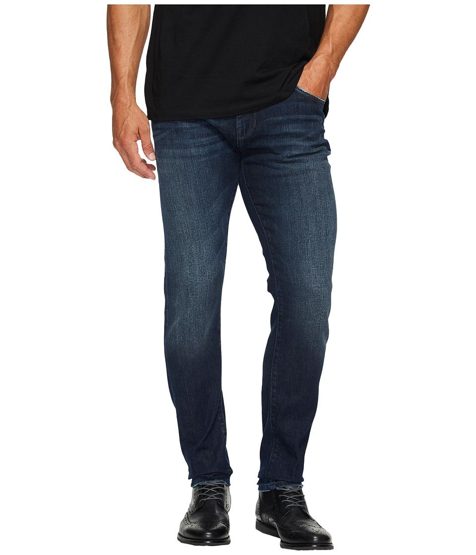Mavi Jeans James Regular Rise Skinny in Deep Brooklyn (Deep Brooklyn) Men