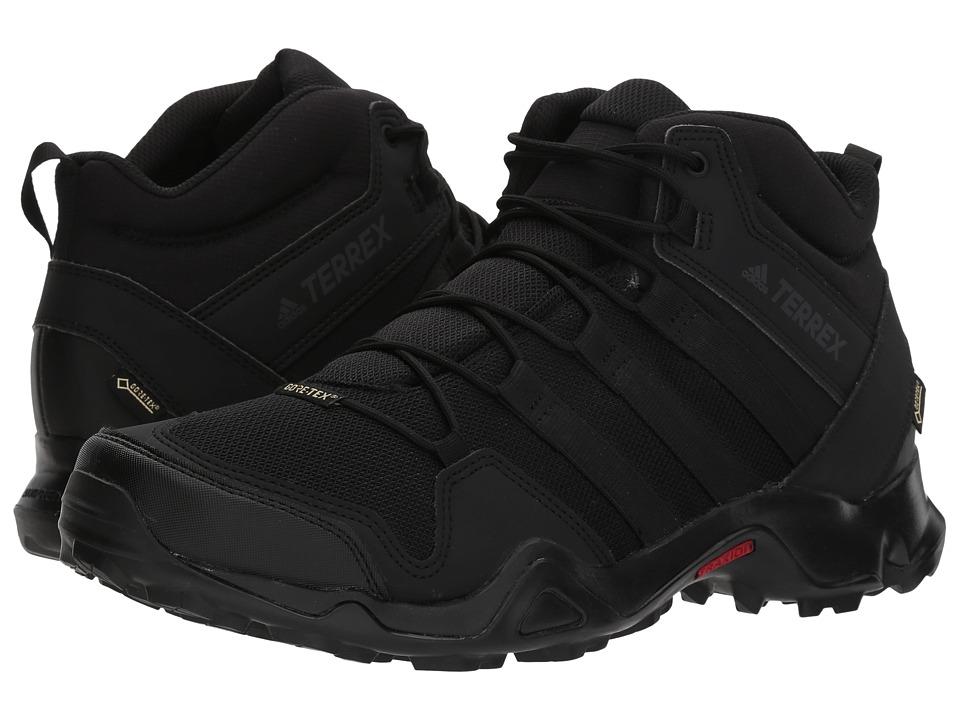 Adidas Outdoor - Terrex AX2R Mid GTX(r) (Black/Black/Blac...