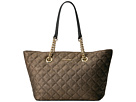 Calvin Klein Quilted Metallic Tote