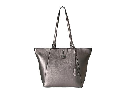 Calvin Klein Samira Pebble Tote - Metallic Silver