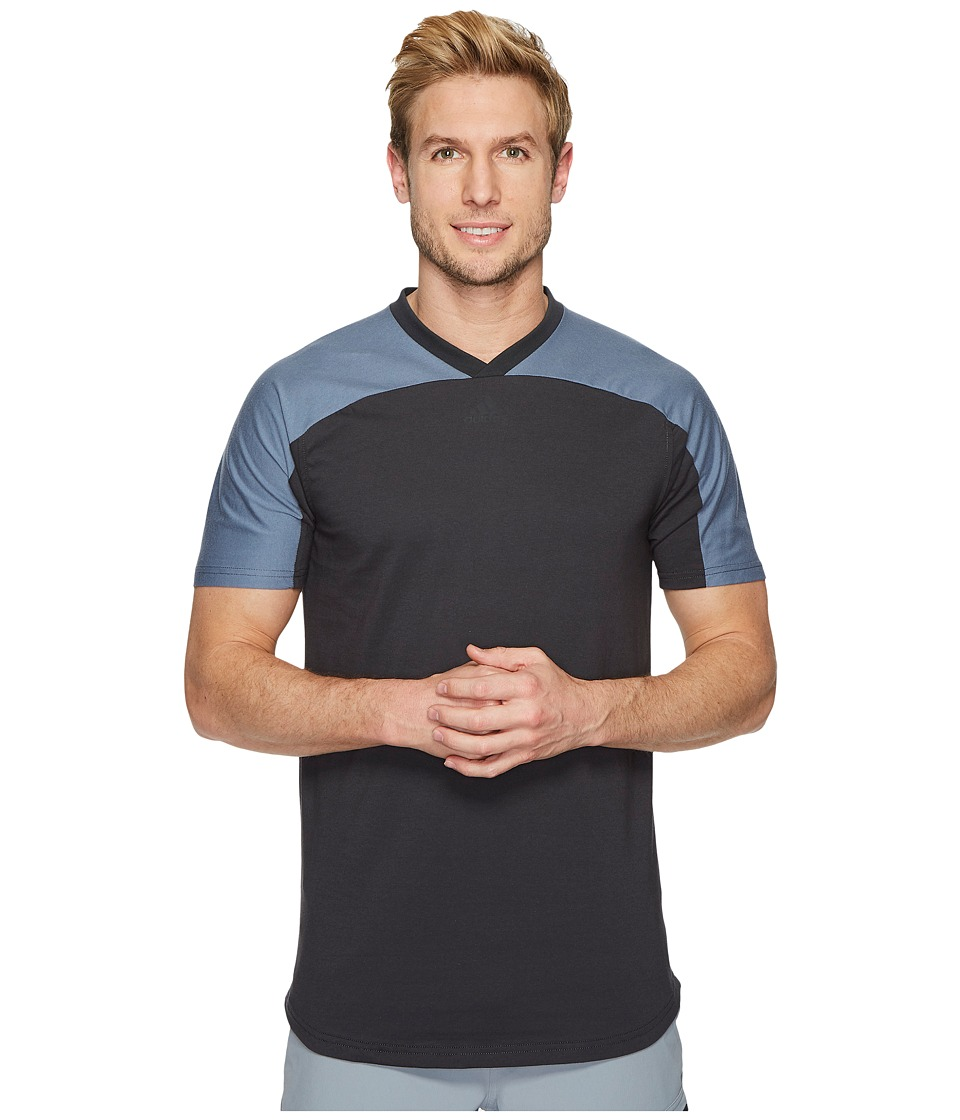 adidas Sport ID Scoop Tee (Carbon) Men