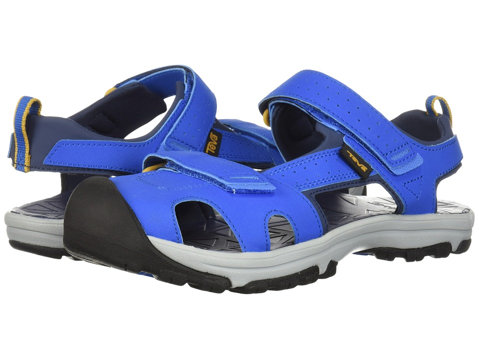 Teva Kids - Hurricane Toe Pro (Big Kid) (Dazzling Blue) Boys Shoes