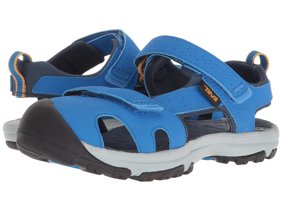 Teva Kids - Hurricane Toe Pro (Little Kid) (Dazzling Blue) Boys Shoes