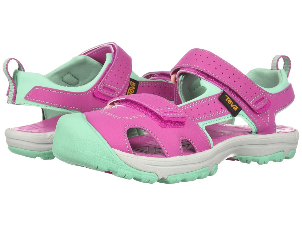 Teva Kids - Hurricane Toe Pro (Little Kid) (Raspberry) Girls Shoes