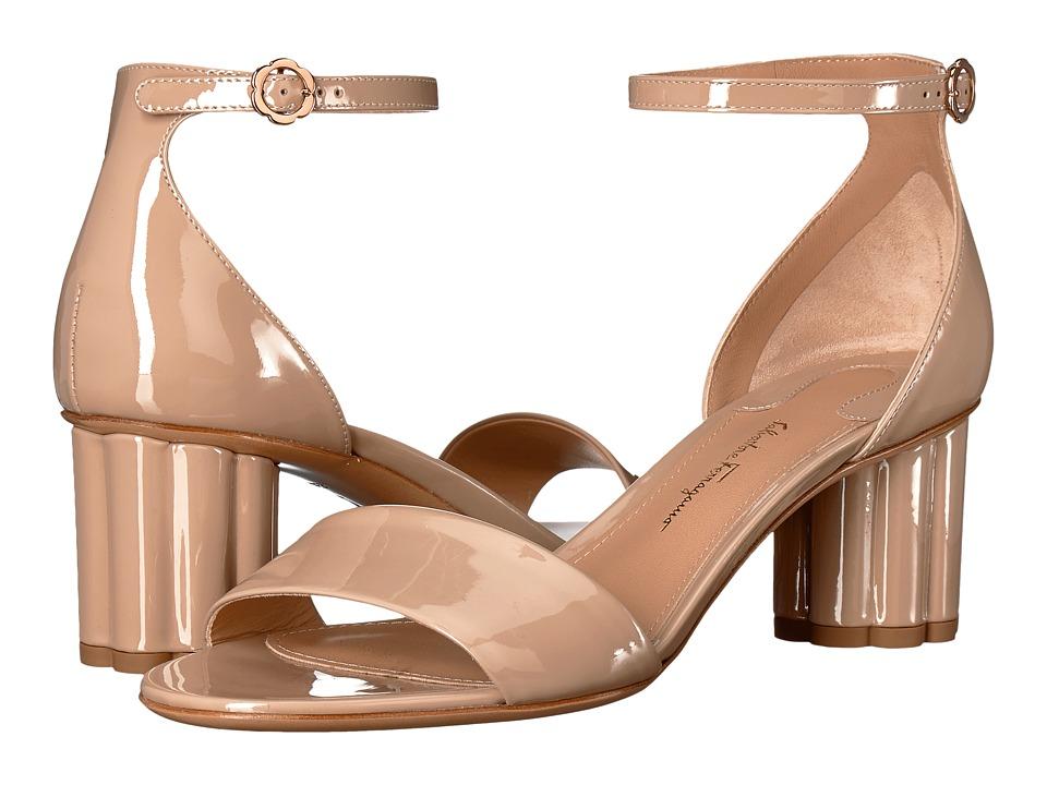 Salvatore Ferragamo Eraclea (Almond Patent) High Heels