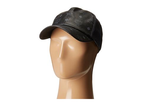 MCM Visetos Mesh Cap - Black 1