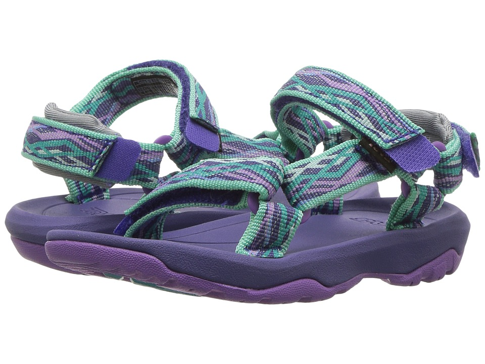 Teva Kids - Hurricane XLT 2 (Toddler) (Delmar Sea Glass/Purple) Girls Shoes