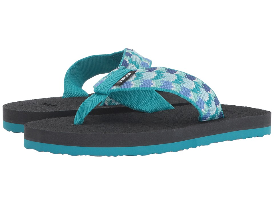 Teva Kids - Mush II (Little Kid/Big Kid) (Rhia Aquamarine) Girls Shoes