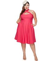 Unique Vintage - Plus Size Rita Flare Dress